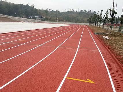 云南新国标塑胶跑道材料跑道施工建设专业厂家-广州信源体育产业有限公司