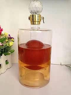 直管玻璃白酒瓶�S家定制��性空酒瓶