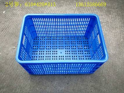 黑龙江塑料周转筐可免费印字 加厚菜箩尺寸-佛山市乔丰塑胶实业有限公司生产部