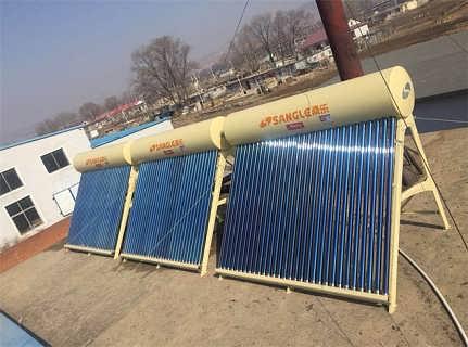 大连太阳能热水工程-宾馆太阳能热水工程