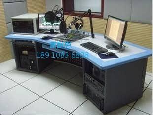 非编台电台演播桌录音直播桌演播桌厂家新闻直播桌-北京富耐恩电子设备有限公司