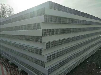 北京顺义PVC九孔格栅管哪有卖,九孔格栅管厂家