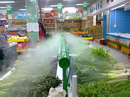 宿迁超市果蔬保鲜加湿 环保节能