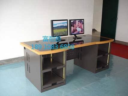 访谈桌 播音台 非编操作台厂家-北京富耐恩电子设备有限公司