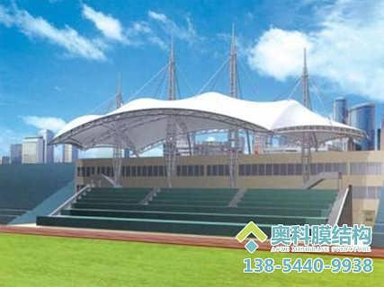 体育场馆膜结构建造