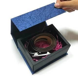 广州多艺包装高端定制珠宝首饰精品折叠盒礼盒