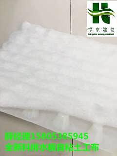 新乡3公分新料排水板复合土工布枣庄车库建筑-泰安市绿泰建材有限公司.