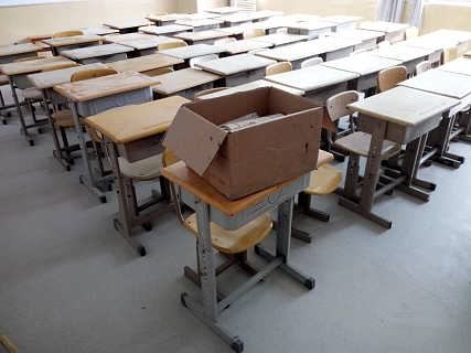 青岛美莱尔学校吸音地胶板