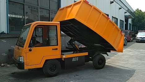 3吨电动自卸车 厂区场地用车
