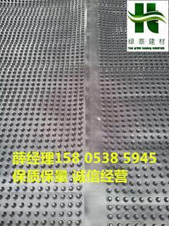 上海车库排水板2公分30高排水板施工-泰安市绿泰建材有限公司.