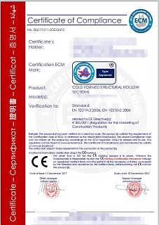 钢材能做CE认证吗