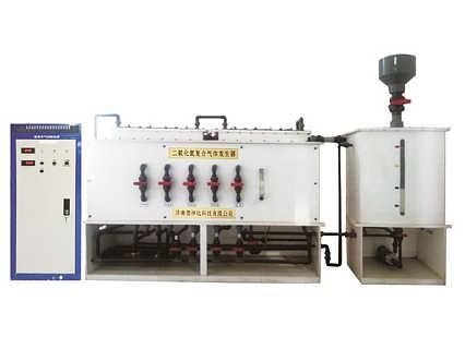 大型电解法二氧化氯发生器 济南德林达