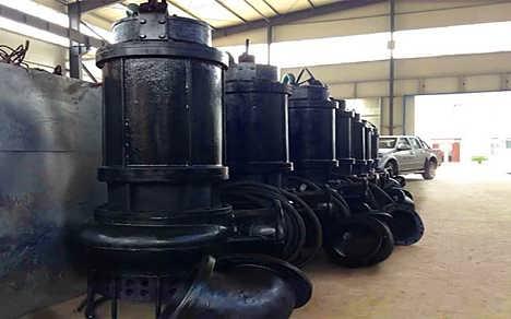 高品质潜水吸泥泵电动清淤泵潜水渣浆泵
