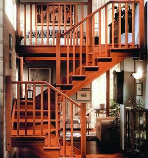 大连欧式风格楼梯楼梯厂家_登藤楼梯