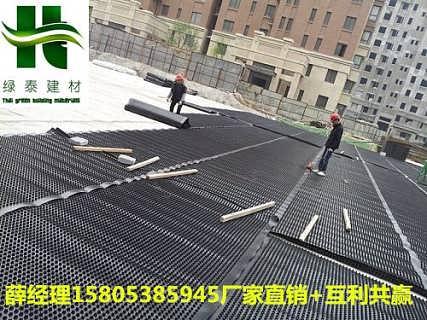 锦州/济宁2公分15高车库顶板排水板厂家-泰安市绿泰建材有限公司.