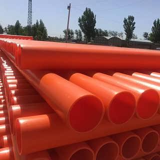 临沂MPP电缆保护管生产厂家规格160mpp电力管现货-河北轩驰塑料制品有限公司电力管销售部