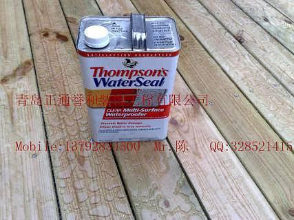 木蜡油原装进口美国汤姆逊水封漆防腐木油漆木栈道耐候木油
