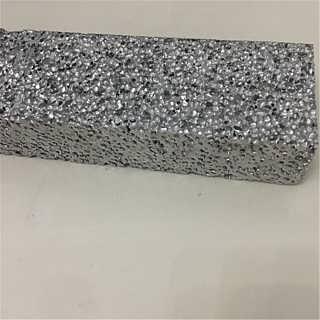 直销泡沫铝电梯降噪音 汽车消音多孔泡沫铝圆柱 阻尼降噪铝泡沫板