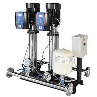 州泉 CDLF全自动多级离心泵高楼变频供水设备恒压稳压机组
