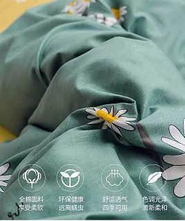 网红款四件套全棉纯棉INS抖音床上用品公主风床单被罩宿舍三件套