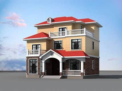 中配轻钢别墅和传统砖混结构房屋相比,不需要花时间和精力建造地基,能够减少大量