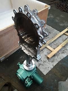 PZ973W-10NR耐高温电动灰闸阀,高温刀型灰渣阀