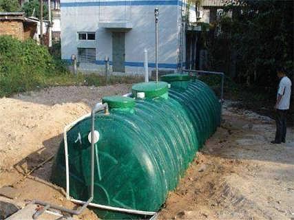 鹤壁玻璃钢化粪池 浚县机械缠绕玻璃钢化粪池-洛阳旭赫环保科技有限公司
