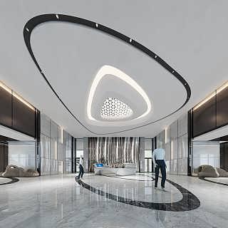 郑州独栋办公楼装修设计一定要选择专业的装饰公司