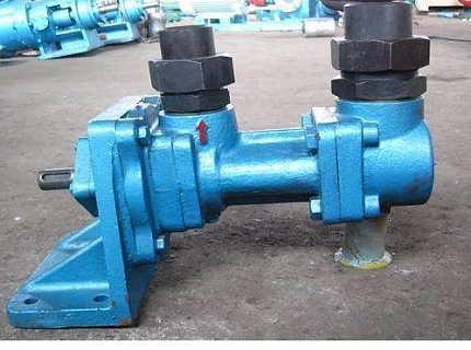 三螺杆泵3G100X2-46船用立式双吸三螺杆泵 大流量螺杆输油泵-泊头市红旗高温泵厂-