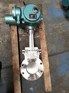 PZ973W-10NR电动高温排渣阀、灰渣闸阀