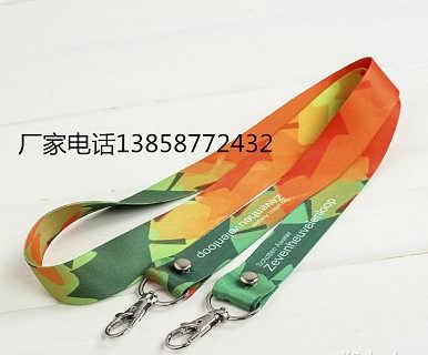 厂家供应证件挂绳 创意证件挂绳热转印制作