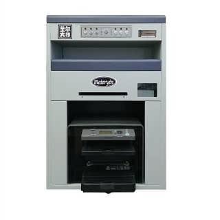 适应各种材质厚度广的小型名片印刷机