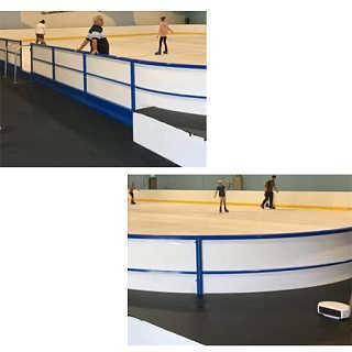 轮滑项目围栏界墙A金沙县轮滑项目围栏界墙厂家价格
