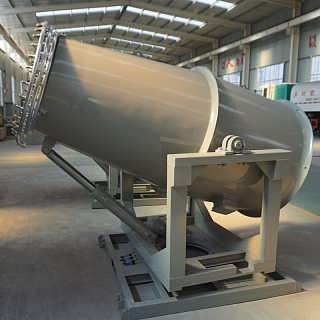阿克苏冶炼厂储煤仓高效雾炮机-山东北华环保股份有限公司(雾化除尘设备)