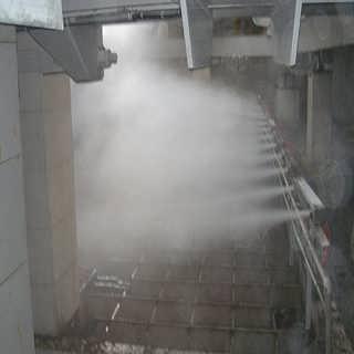 钢厂输煤皮带机微雾抑尘装置 现货供应-山东北华环保股份有限公司(雾化除尘设备)