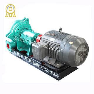 柴油�C抽沙泵 8寸耐磨抽沙泵