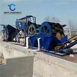 高效制砂洗砂机参数 定制水洗轮洗砂机