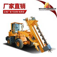 铲车打桩机厂家 铲车改装液压打桩机图片