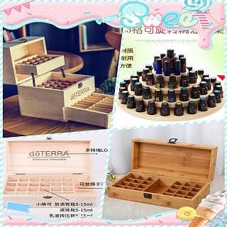 �S家直�N精油木盒定做��木精油收�{盒展示盒