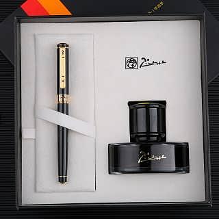 西安钢笔免费刻字 派克笔定制logo礼品笔商务礼盒印字