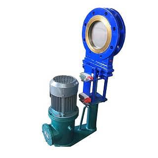 电液动对夹式浆液阀、电液动耐磨浆液阀