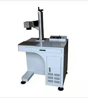 光纤激光打标机 二维码激光喷码机镭雕机