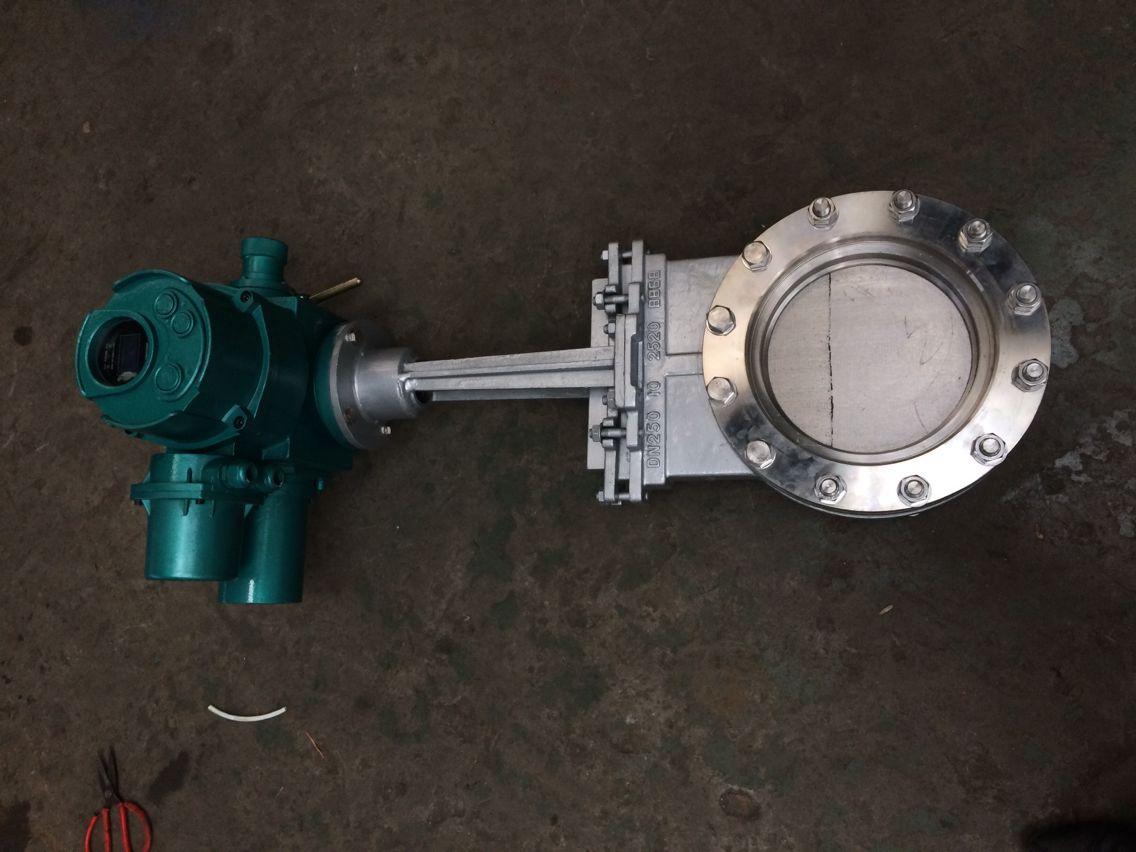 电动耐磨刀形闸阀、电动耐磨排灰渣阀