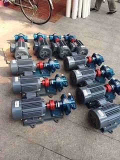 重油泵电机组KCB-55齿轮泵电机组-泰兴市四海液压机械厂