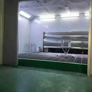 环保家具烤漆房脉冲式除尘光氧催化设备