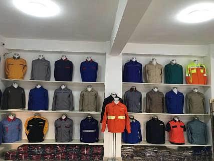内蒙古哪里可以定做带图片LOGO的工作服宣传服-哈尔滨市双城区靖品服装加工厂