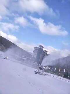 山西低投入造雪设备 高效人工造雪机提升造雪速度-河南克莱恩机械设备有限公司