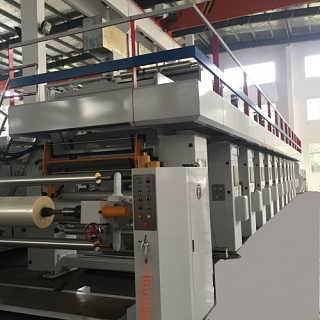 电脑自动套色凹版印刷机组印刷机械-无锡市博宇塑机有限公司