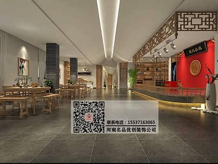 郑州茶楼设计公司案例,茶馆装修施工注意事项