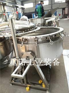 可倾搅拌夹层锅-蒸气夹层锅-夹层锅用电好还是燃气好-山东重诺工业装备有限公司-业务部